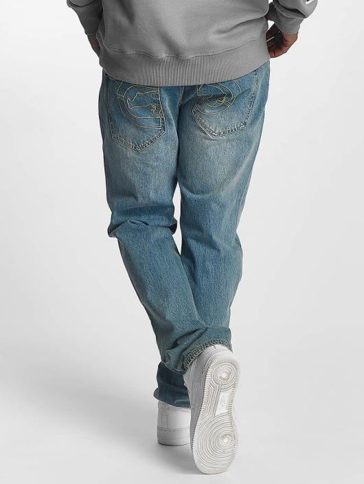 Ecko Unltd. Straight Fit Jeans Camp's St Straight Fit blau