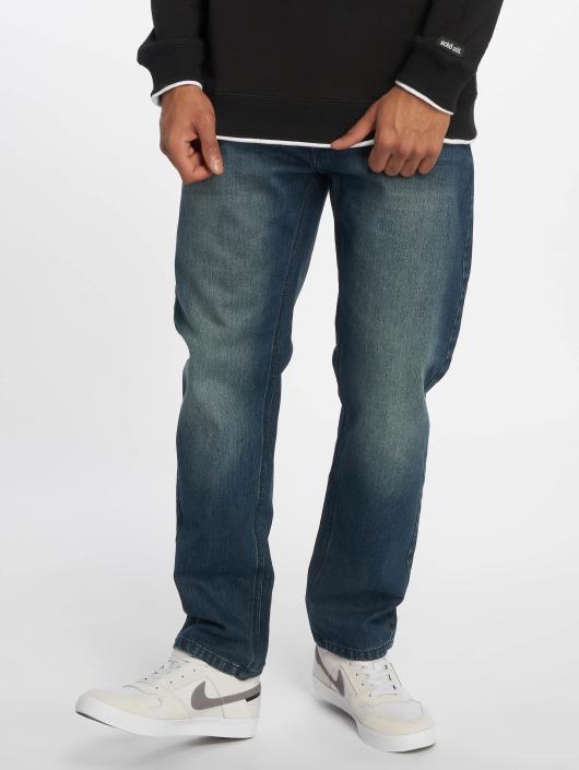 Ecko Unltd. Straight Fit Jeans Mission Rd Straight Fit blau