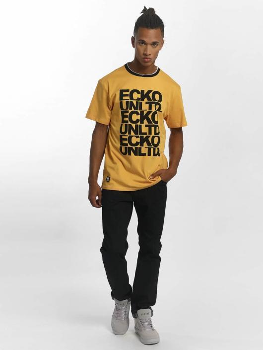 361560 Jaune Homme T shirt UnltdFuerteventura Ecko 8Onwm0vN