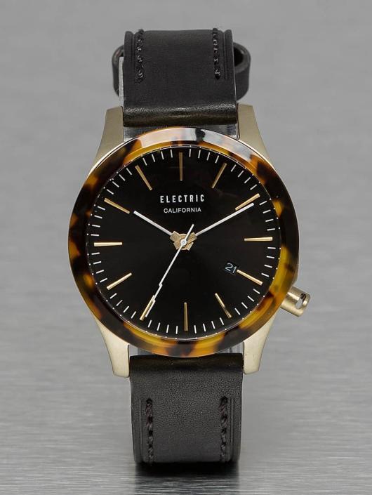 Electric Klocka FW03 Leather svart