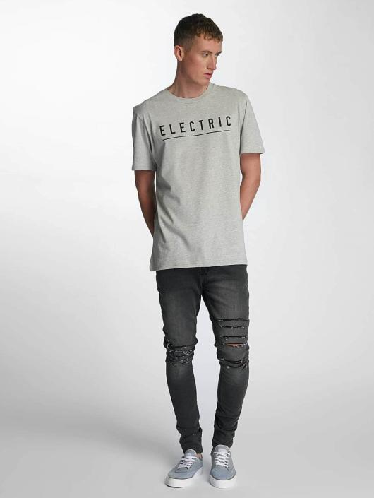 Electric T-Shirt Script gray