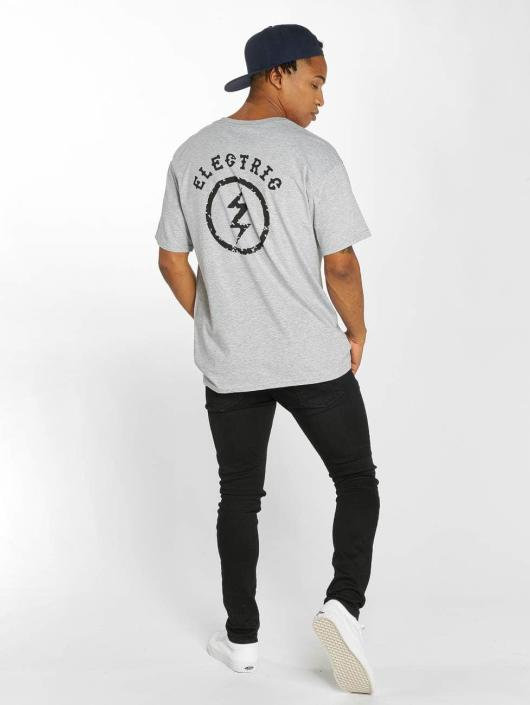 Electric T-Shirt CIRCLE BOLT gray