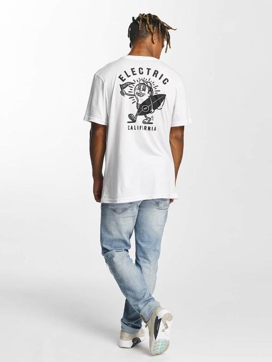 Electric t-shirt Mascot wit