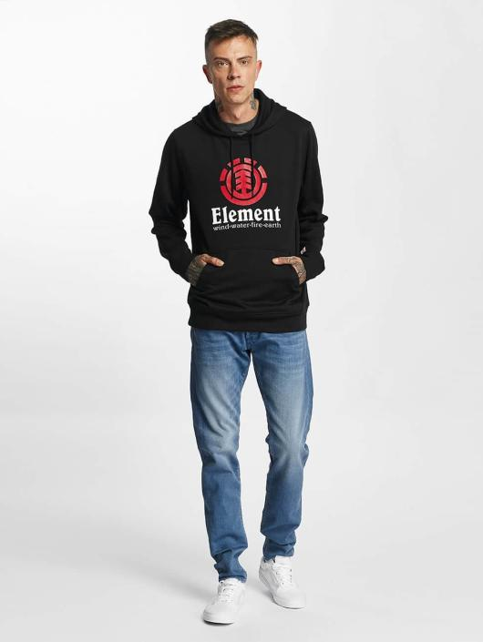 Element Hoodie Vertical black