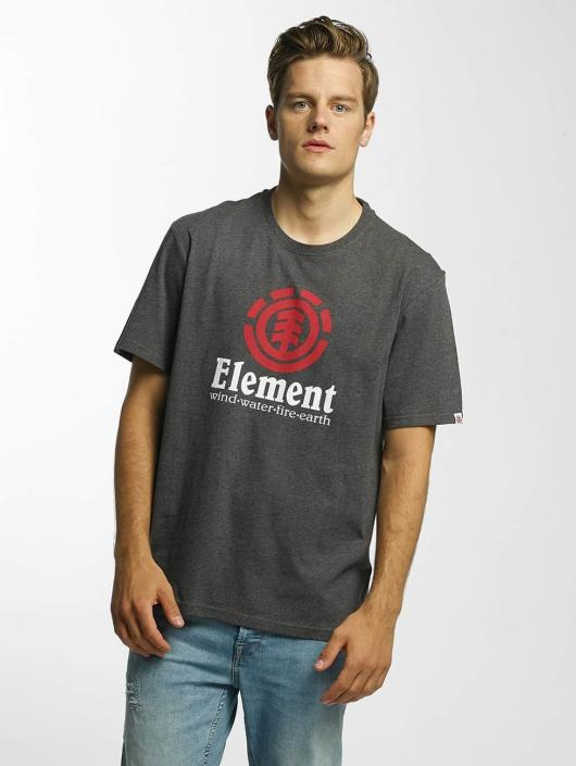 Element T-Shirt Vertical grau