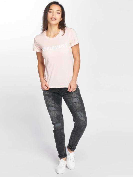 Element T-Shirt Logo rose