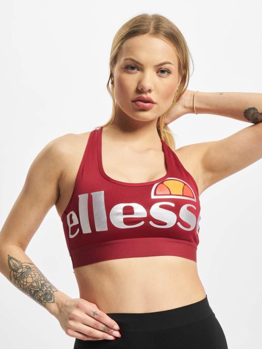 Ellesse Biustonosz sportowy Sport Cefalo Bra czerwony