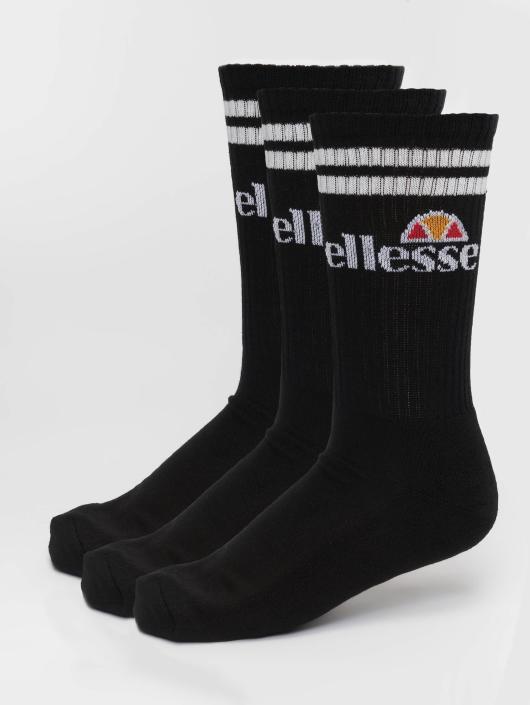 Ellesse Chaussettes Pullo 3 Pack noir