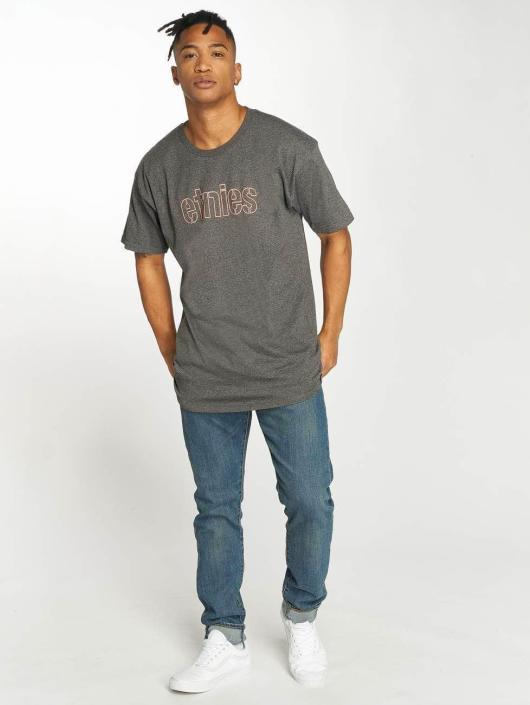 Etnies T-Shirty Mod Stencil szary