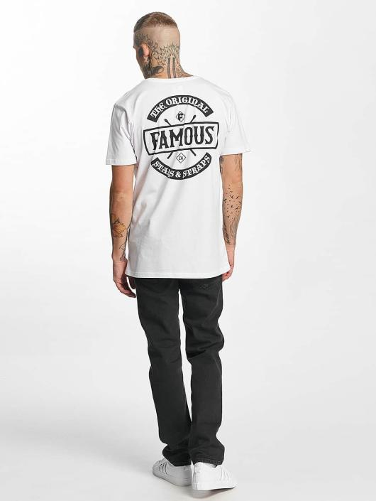 Famous Stars and Straps Camiseta Chaos blanco