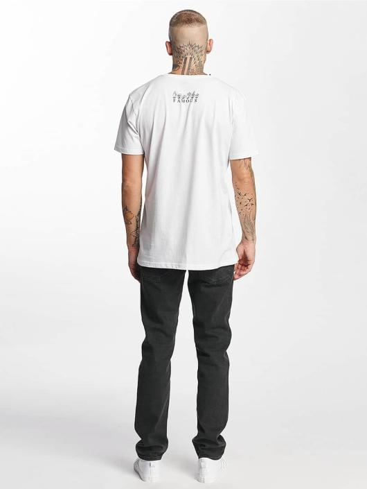 Famous Stars and Straps Camiseta FMS Sign blanco