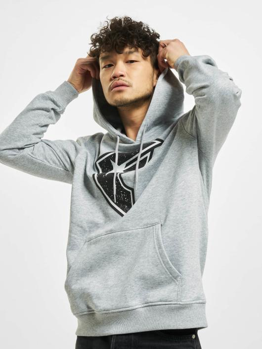 Famous Stars and Straps Hoody Composition grau