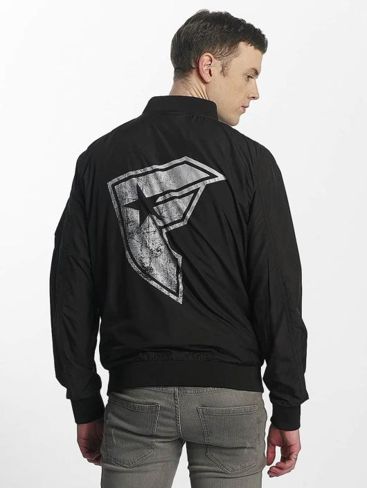 Famous Stars and Straps Lightweight Jacket Logo Bomber black