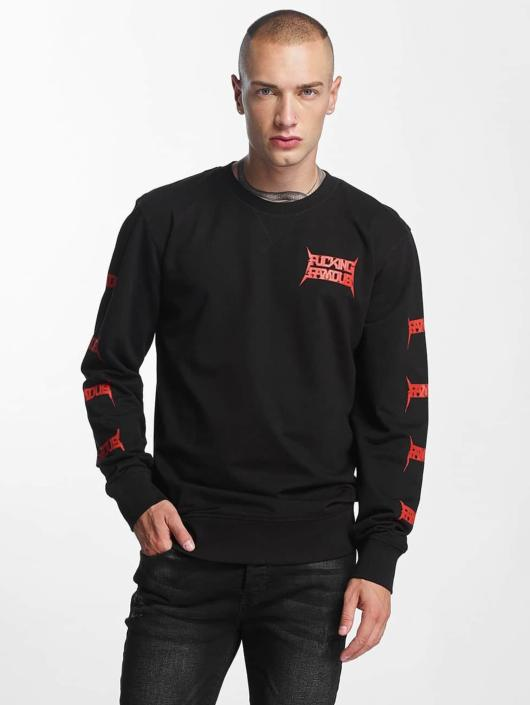 Famous Stars and Straps Pullover Nuclear F*ck black