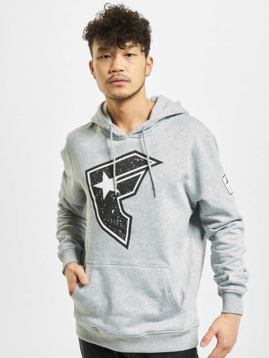 Famous Stars and Straps Sweat capuche Composition gris
