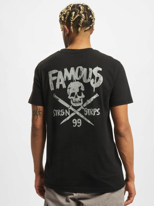 Famous Stars and Straps T-Shirt Stick It noir