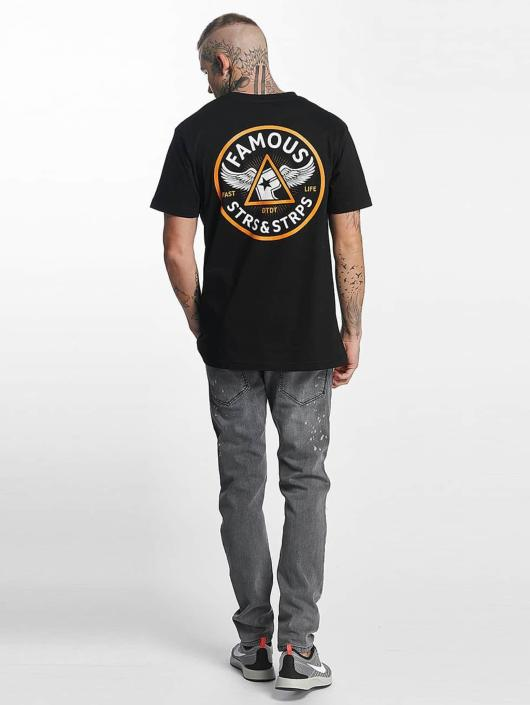 Famous Stars and Straps t-shirt Pit Stop zwart