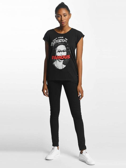Famous Stars and Straps t-shirt God Cant Save zwart