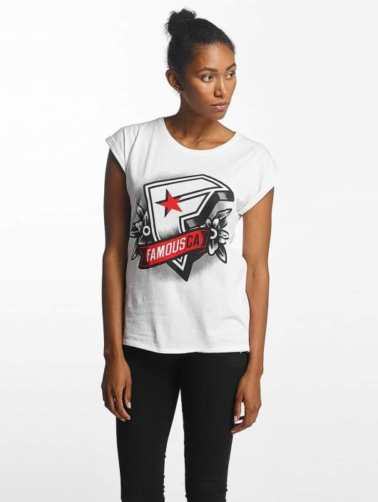 Famous Stars and Straps T-skjorter CA hvit