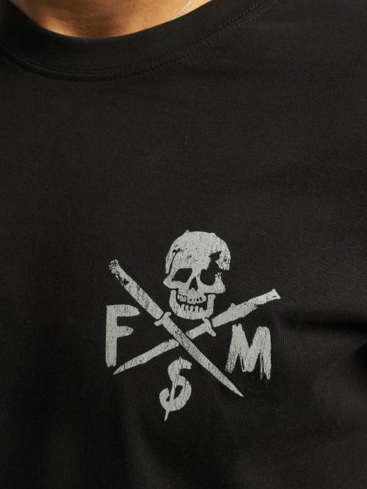 Famous Stars and Straps T-skjorter Stick It svart