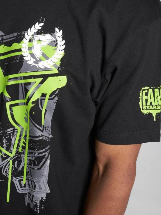 Famous Stars and Straps T-skjorter Riot Wall Tee svart