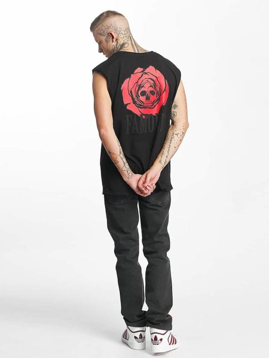 Famous Stars and Straps Tank Tops Deadrose čern