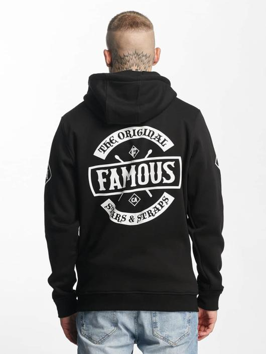 Famous Stars and Straps Zip Hoodie Chaos čern