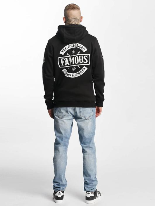 Famous Stars and Straps Zip Hoodie Chaos черный