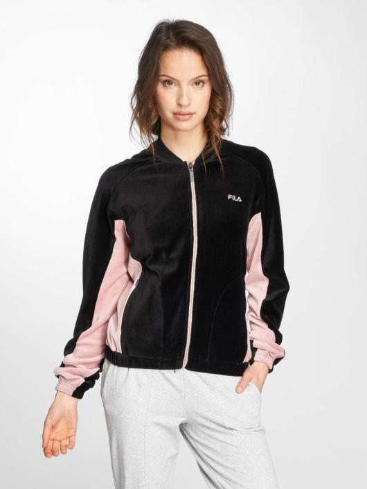 FILA Демисезонная куртка Urban Line Velvet черный