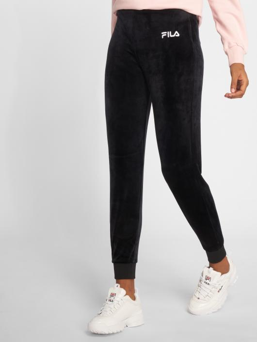 FILA Sara Velour Sweatpants Black