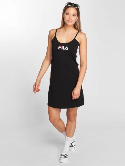 486315 Damen Kleid Urban Fila Line In Schwarz D9IEH2