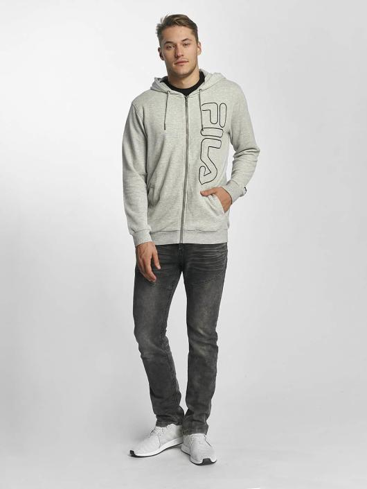 FILA Sweat capuche zippé Core Line gris