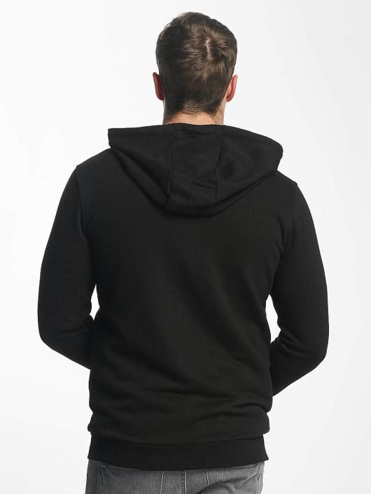 FILA Sweat capuche zippé Core Line noir