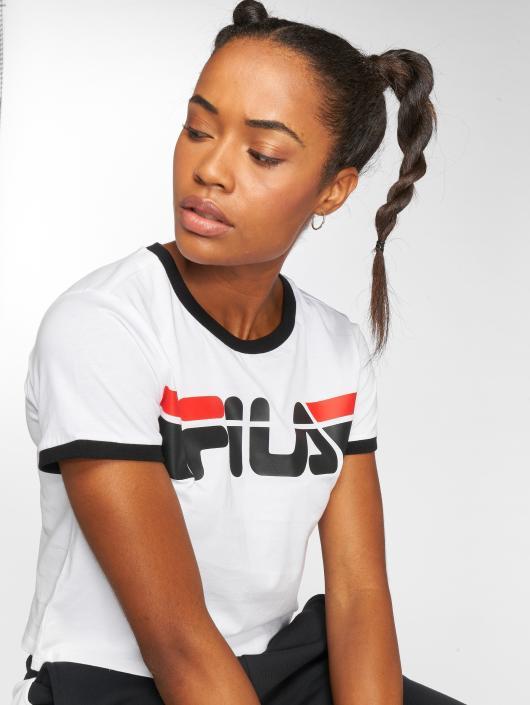 dec6ceb6d6a8c FILA   Urban Line Ashley Cropped blanc Femme T-Shirt 509986