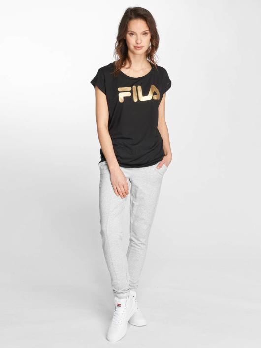 FILA T-Shirty Tall Sora czarny