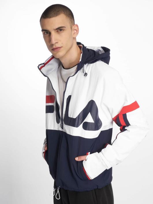 FILA Riker Foldaway Padded Jacket White/Peacoat