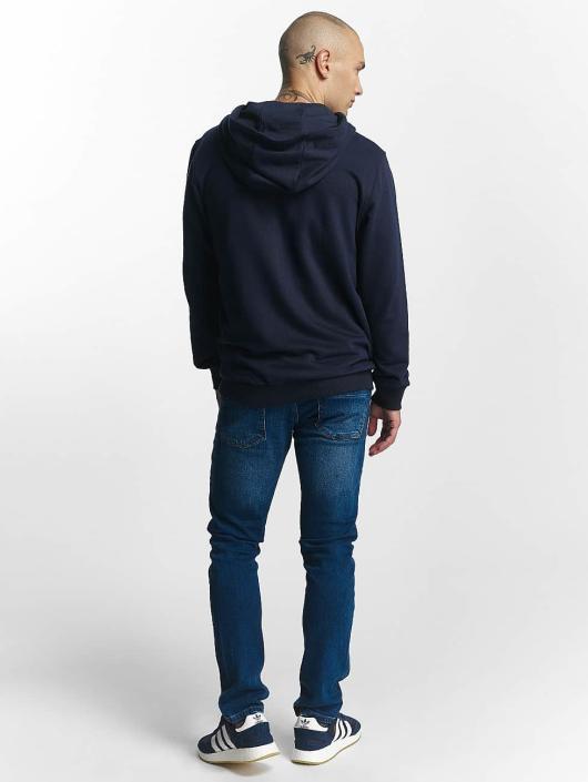 FILA Zip Hoodie Core Line niebieski