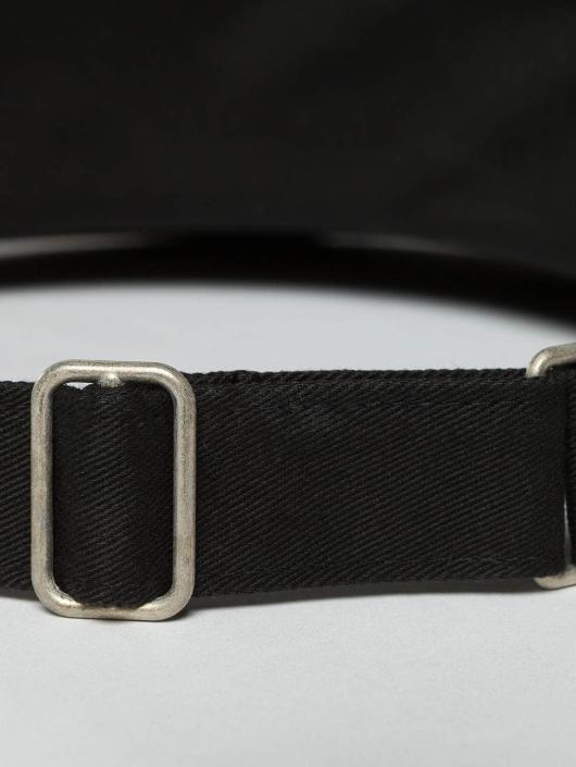 Flexfit Кепка с застёжкой Flat Round Visor черный