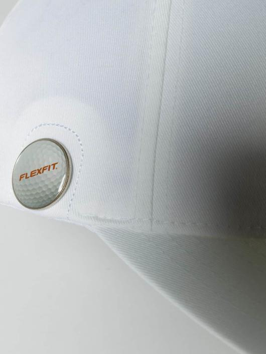 Flexfit Flexfitted Cap Golfer Magnetic Button weiß