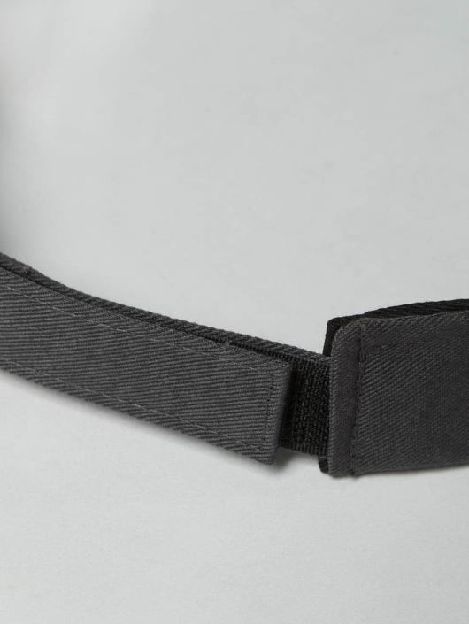 Flexfit Snapback Cap Curved Visor gray