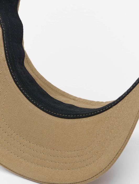 Flexfit Snapback Caps Curved Visor khakiruskea