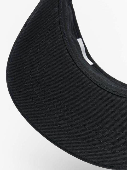 Flexfit Snapback Caps Curved Visor musta
