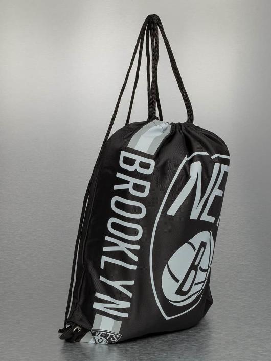 Forever Collectibles Sac à cordons NBA Cropped Logo Brooklyn Nets noir