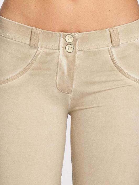 Freddy Kapeat farkut Pantalone 7/8 beige