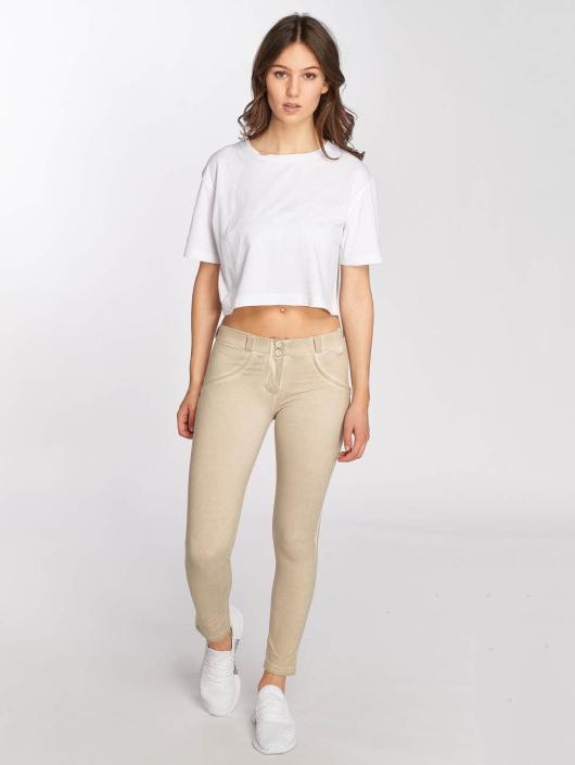 Freddy Skinny Jeans Pantalone 7/8 béžový