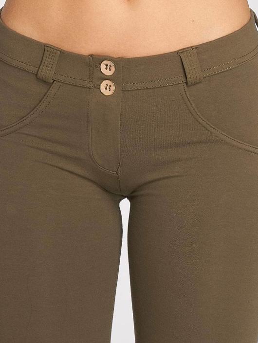 Freddy Skinny Jeans Pantalone Lunga olivový