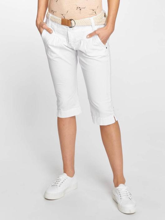 Fresh Made Pantalón cortos Capri blanco