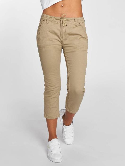 Fresh Made Sweat Pant Capri Jogg beige