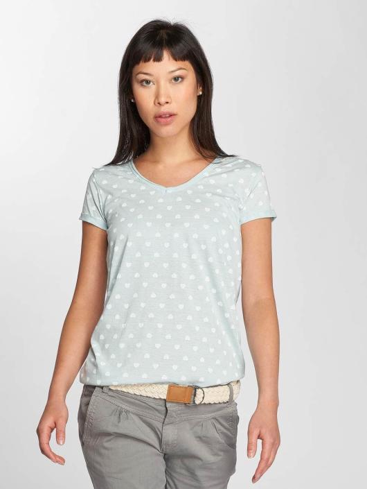 Fresh Made T-Shirt Hearts bleu
