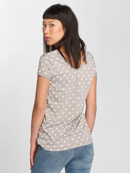 Fresh Made T-Shirt Hearts grau
